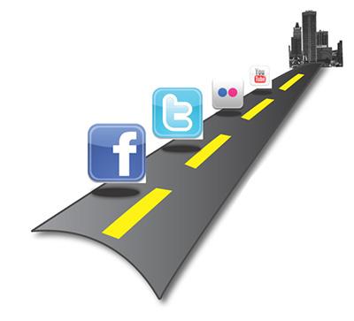 sucesso nas redes e midias sociais